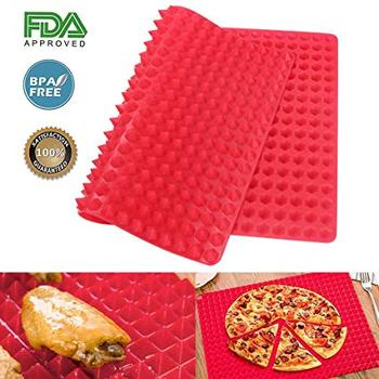 Silicone Baking Mat Pyramid Pan- Best Healthy Chef Cooking Sheet - Wholesale stocks