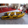 PVC inflatable boat price inflatable pontoon boat with aluminium bottom