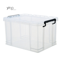 Groothandel Thuis Center Mini Plastic Diversen <span class=keywords><strong>Opslag</strong></span> Grote Tool Dozen Grote Stapelbare Plastic Clear Bin