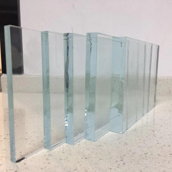 Tempered ultra clear low iron glass