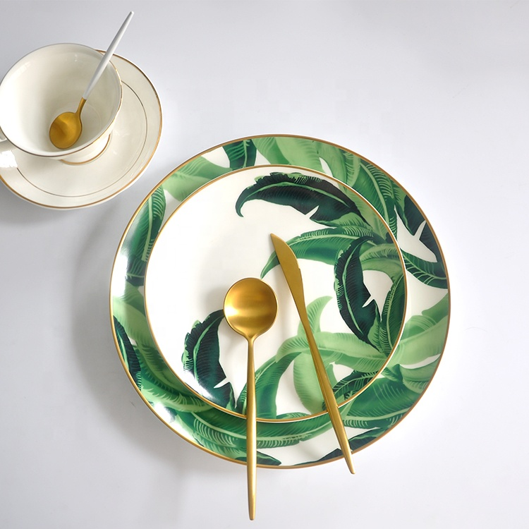Restaurant <strong>plates</strong> dinner ceramic charger <strong>plate</strong> dish nordic style