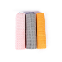 custom promotion product microfiber waffle towel for home cleaning microfiber waffle cloth