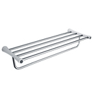 stainless steel wall mounted bathroom towel racks for small bathrooms hotel bath towel holder rack