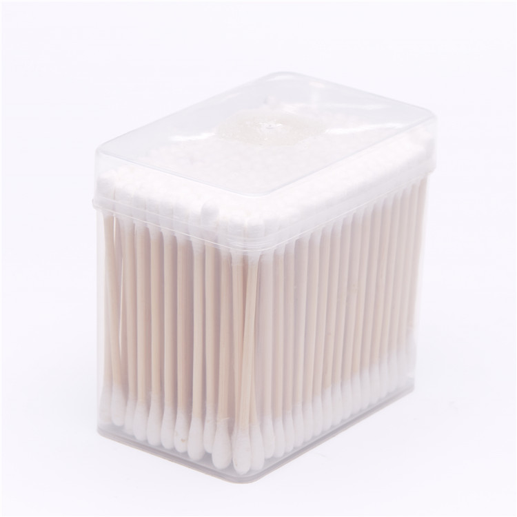 200pcs High quality bamboo stick cotton buds care baby swabs sticks in ear