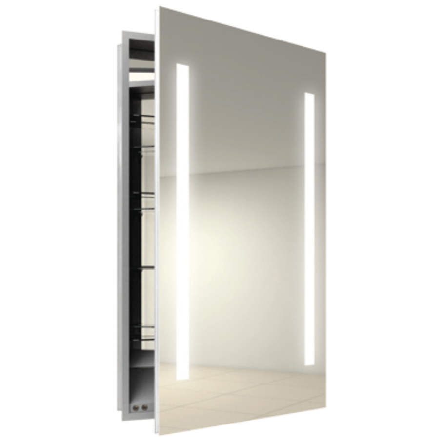 Mirror Lights Bathroom Vanity Cabinet