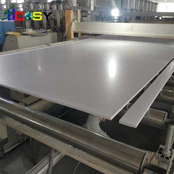 standard size white PVC foam board for advertisement sign display and PVC plastic foam sheet digital printing plastic sheet PVC