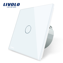 Livolo VL-C701-11 Standard UE 1 Gang 1 Way Touch Screen Automazione Intelligente Parete <span class=keywords><strong>Interruttore</strong></span>