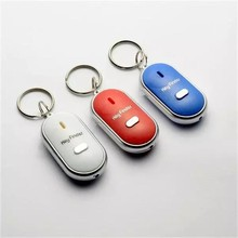 Großhandel Pfeife Wireless Key Finder Alarm Keychain