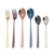 High quality 304 stainless steel fork and spoon color intrigue dinner fork
