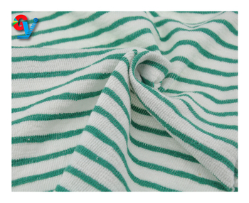 China suppliers 100% cotton soft terry jersey fabric cloth for garment