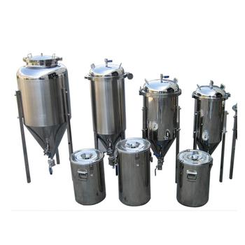 DYE 50L 100L 150L 200L Cylindrical Conical Fermenters Home Brew Beer Fermenting Equipment for Sale