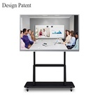 Education 86 inch all in one touch smart board PC LCD screen monitors touch computer for school teaching