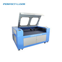 High Speed Mdf/Acrylic Cutting 1410 Double Heads Laser Cutting Machine