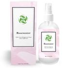 Private label 100% pure organic rose water price in bulk