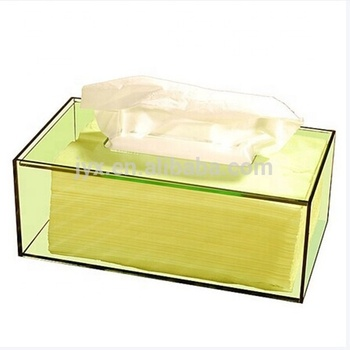 New arrival Acrylic Tissue Box/Restaurant Napkin Holder