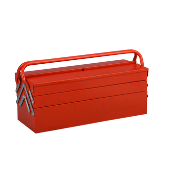 Hot Selling Professional Mobile Portable Cantilever Metal Tool Box With double handle