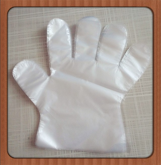 Jinan Factory Sale PE Gloves Sanitary Transparent Disposable Medical Hand Gloves