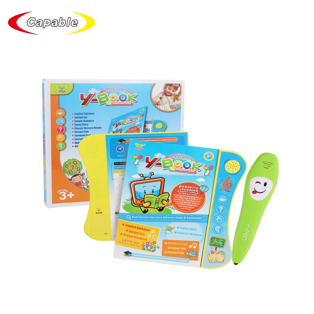 2019 Multi-function Touch Screen toys For Kid Fun Study cognitive toy educational point reading learning book with <strong>talking</strong> <strong>pen</strong>