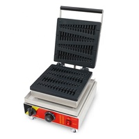 Most Popular Stainless Steel Lolly Waffle Maker Machine