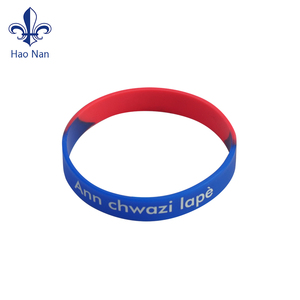 Chinese Factory hot selling custom design silicone wristband