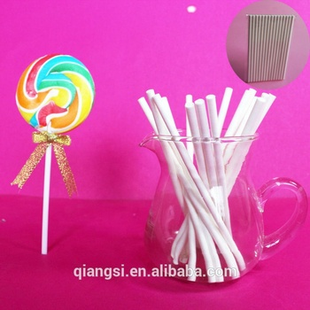 2014 wit papier lollipop sticks bulk