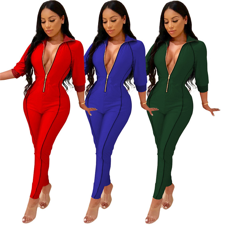 Nieuwe Mode Groothandel OEM Sexy 2019 womens fashion jumpsuits