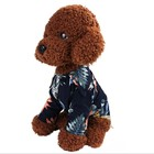 Pet clothes new dog Hawaiian printed cotton pet clothing