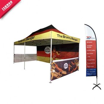 Fast Delivery printed Hot Sell moveable huge fold tent customized size