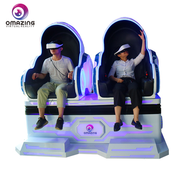 Exciting Movies 1/ 2 seats chair 9d VR cinema/VR Slide Hottest Sale In Peru