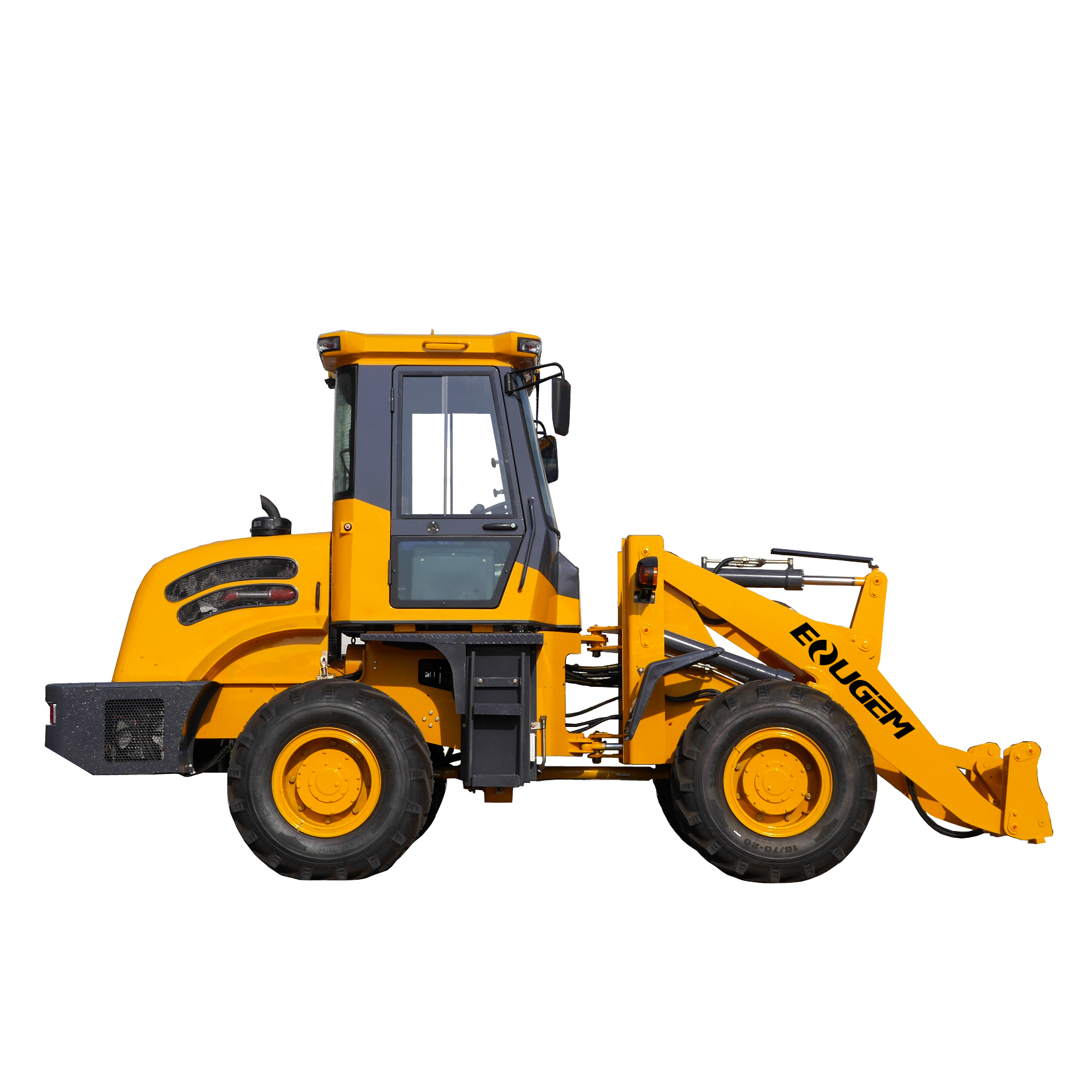 Eougem CE Certificated ZL20 Wheel Loader With Multiple Attachment China Manufacturer Payloader