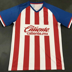 check out cb1bd 22ccb 19 20 home Guadalajara Chivas jersey soccer uniform football shirt