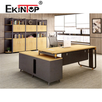 Ekintop furniture office desk office table executive ceo desk office