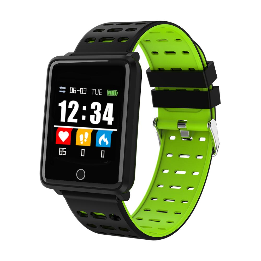 Smart Watch Q18 With Camera Facebook Whatsapp Twitter Sync SMS Smartwatch GT08 DZ09 U8 Support SIM TF Card For Android