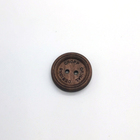 Two-Hole Wooden Environmentally Friendly Custom Snap Button For Clothing,Handmade Wooden Button,Snap Button For Clothing