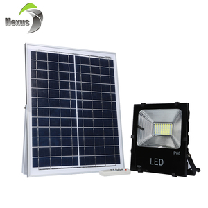 New design outdoor waterproof ip65 20w 30w 50w 100w led solar panel floodlight