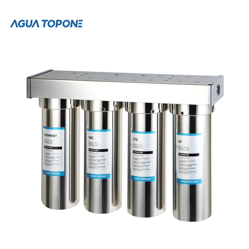 Agua Topone purify drinking <strong>water</strong> reverse osmosis RO <strong>water</strong> <strong>systems</strong> 4 stages for home use