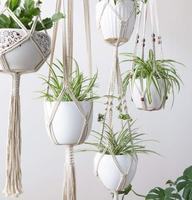 High Quality Wall Plants Hanging Holder Cotton Rope Plant Hanging For Garden And Home Decoration
