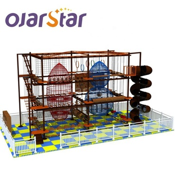 for sale kids playground children rope course playground by wooden