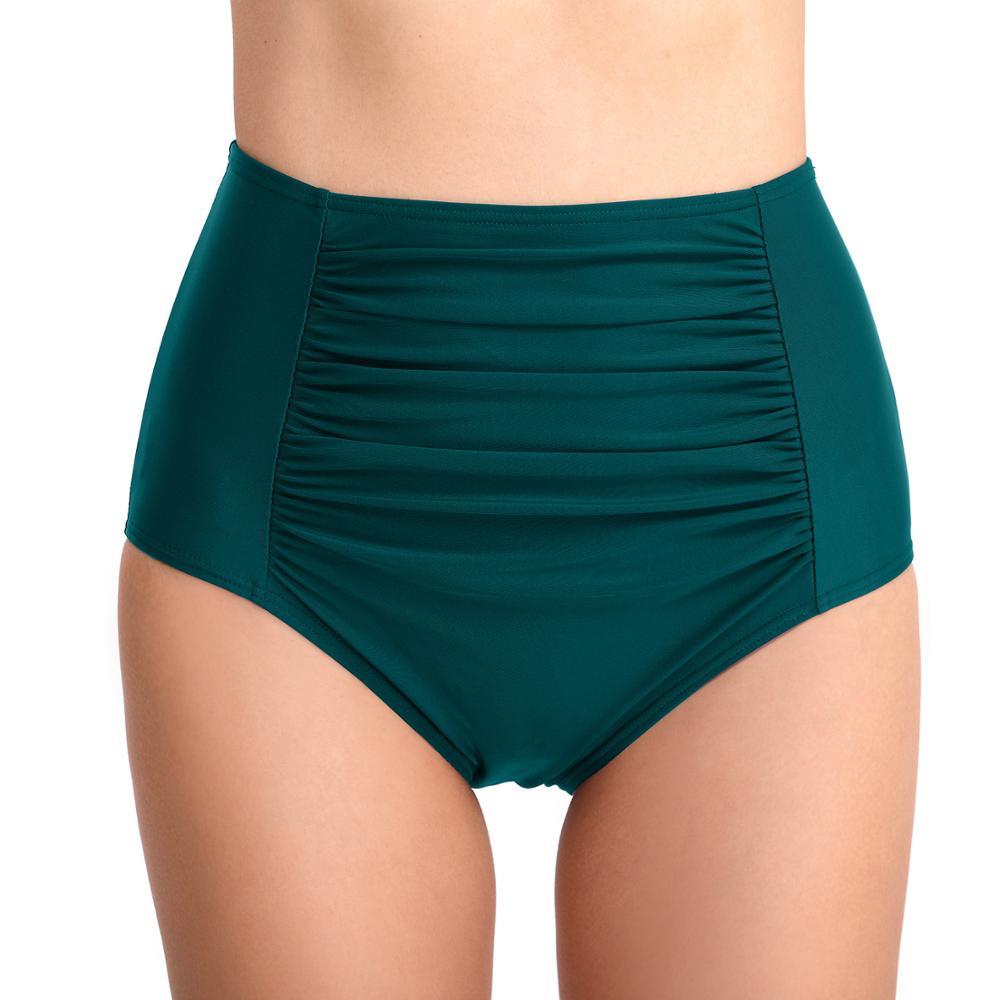 e55dab52a Las niñas traje de baño nadar tronco de dama Sexy playa falda nadar Sexy de  Nylon Spandex suave mujeres Bikini ropa interior de baño maletero