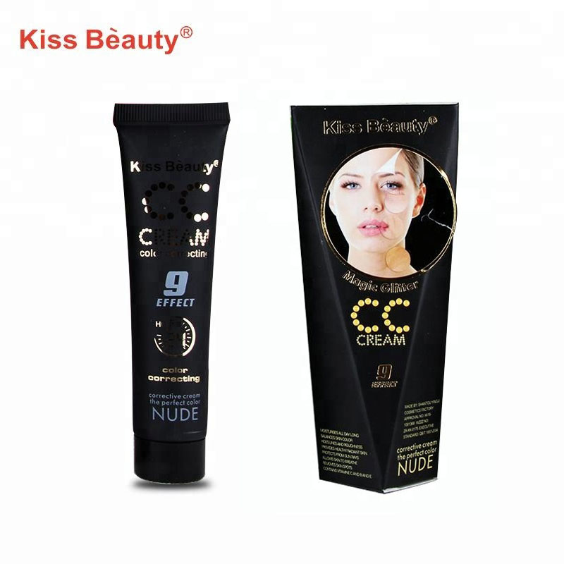 Kiss Beauty ผิวสี Corrected Highlighter Nude CC Cream Foundation