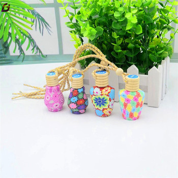 Fashion design car perfume glass bottle empty bottle