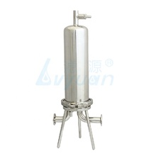Stainless Steel Housing Cartridge Filter/Filter Air Housing Filter 10 Inchi Clamp untuk Anggur/Bir <span class=keywords><strong>Filtrasi</strong></span>