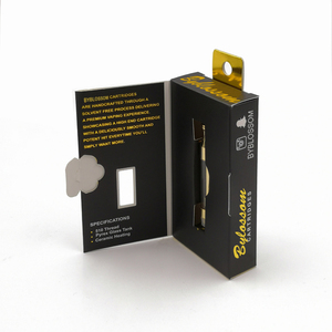 Blossom Brand new vape cartridge packaging boxes with high quality, 510  vape cartridge packaging