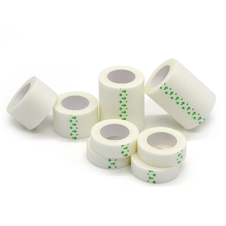Paper tape adhesive latex free breathable skin comfort surgical tape