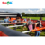 football backyard soccer field inflatable inflatable football toss game human table football