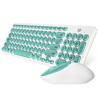 Custom Made Ergonomic Optical Wireless Gaming Keyboard and Mouse