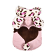 Winter Pet Clothes for Cats Pet Costume Christmas Dog Clothes Cute Leopard Printed Rabbit Coat Warm Clothes Funny