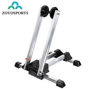 ZOYOSPORTS Foldable Bike Display Rack Portable Indoor Parking Stand Bicycle Rack