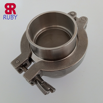 KF Vacuum Fittings, ISO-KF Flange Size NW Aluminum Wing Nut, Flange Quick Clamp for Vacuum Pipe