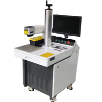 20w/30w/50w/70w/100w white/black/color fiber laser marking machine price /fiber laser engraver/laser marker on metal